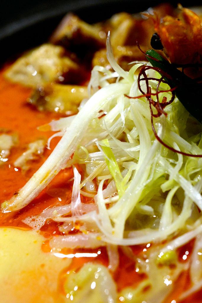 鮮蝦豚骨擔擔麵 - 樂麵屋