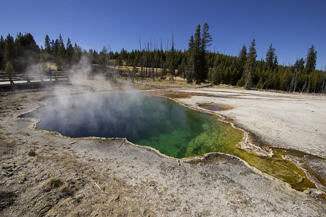 Abyss Pool, West Thumb Geyser Basin, Yellowstone National Park