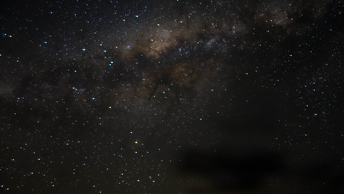 Die Milchstraße gab es auch wieder zu sehen