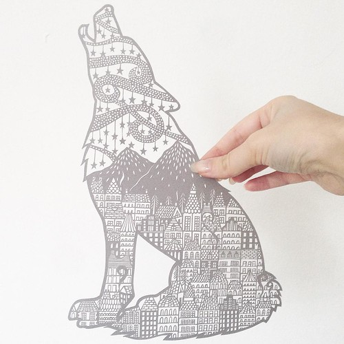Paper Artist Collective Paper Cutting by Georgia Low