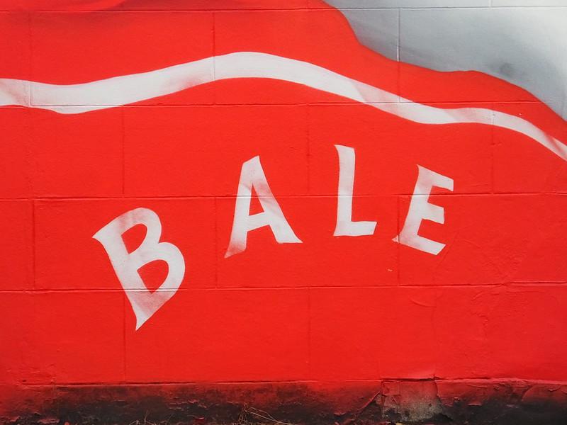 Gareth Bale street art in Cardiff