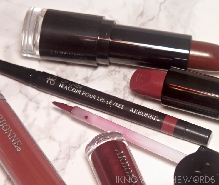 Arbonne Lip Liner in Berry (2)