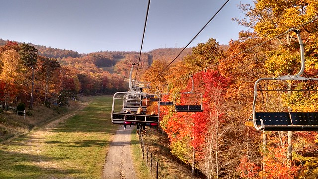 Oct 23 2015 Massanutten Ski Lift Ride (4)