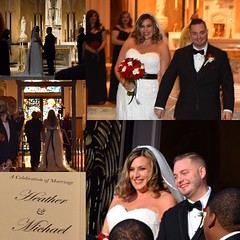Congratulations Heather & Michael! #justmarried #soulmates