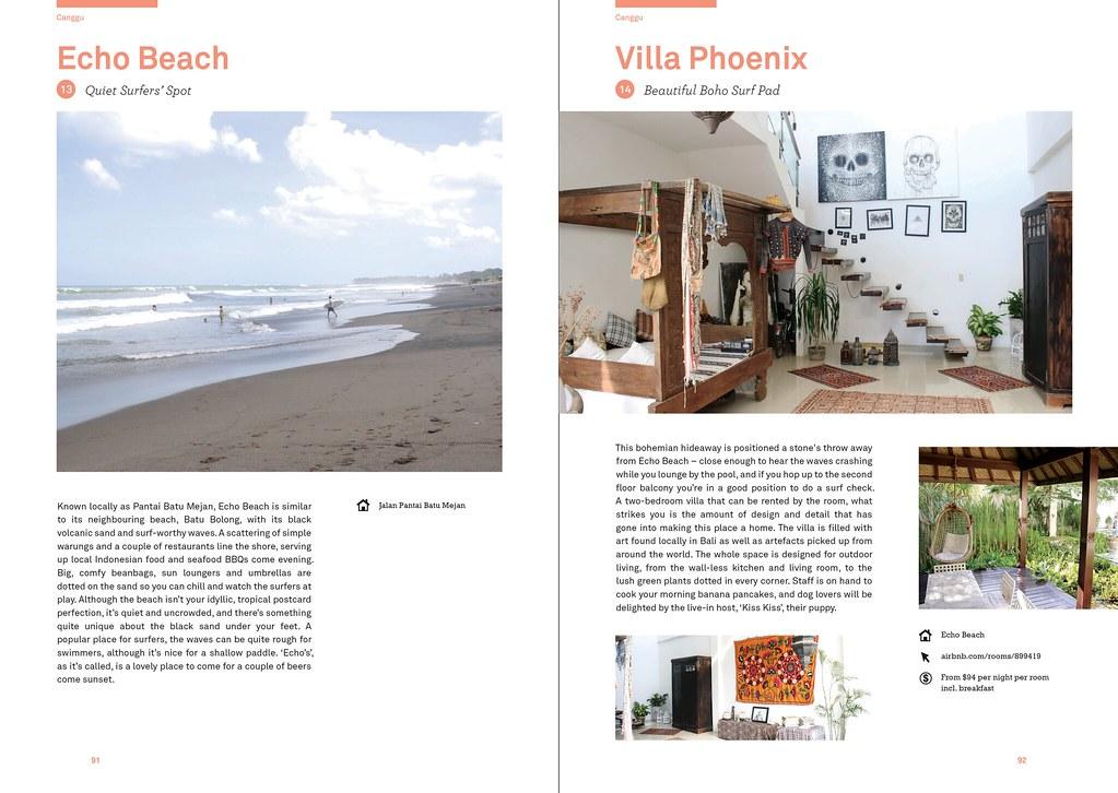 Canggu - Lost Guides Bali book