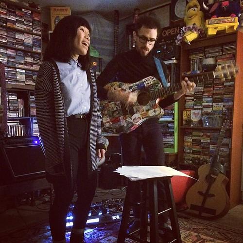 Ana and I at 1435 House Show (November 20 2014)