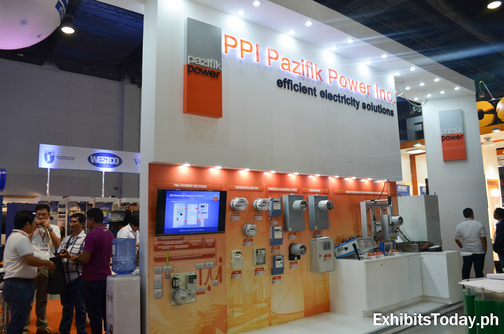 PPI Pazifik Power Inc Trade Show Display