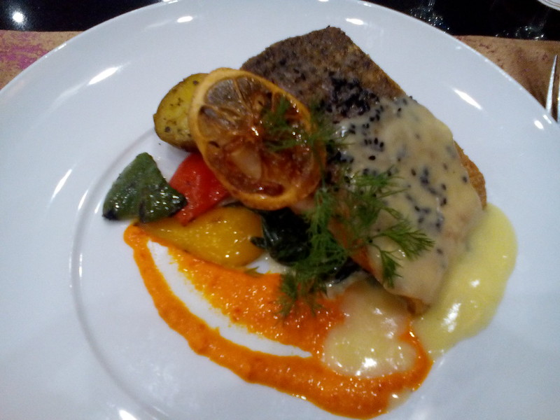 Seabass in lemon butter sauce - Fuze, Everly Hotel, Putrajaya