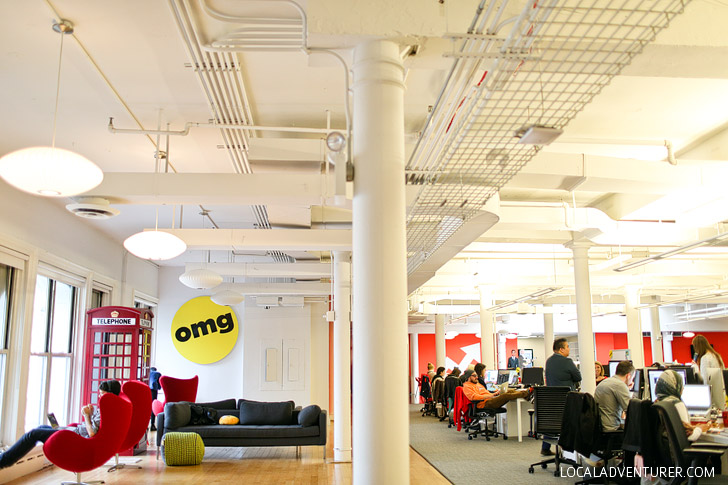Where All the Internet Magic Happens - Touring the Buzzfeed Life Office