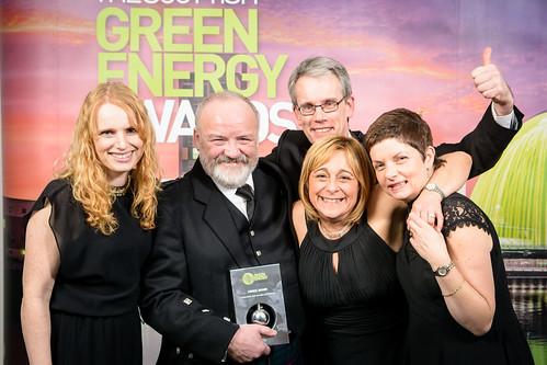 Scottish Renewables Green Energy Awards, EICC, Edinburgh, 3rd December 2015