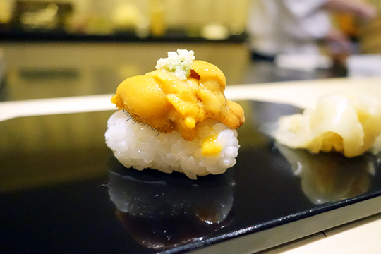 Yuzu 15 Uni Sushi