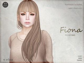 +elua+ Fiona @KUSTOM9
