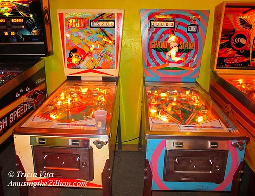 Sky Jump Grand Slam Pinball Games