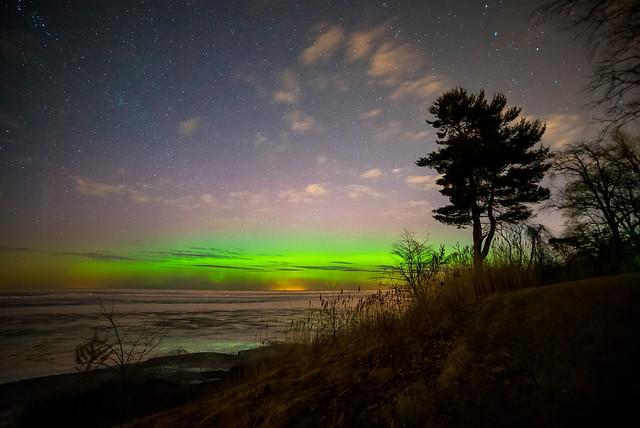 Aurora Over Erie II