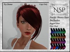 NSP Pacific Shores Hair - Colors