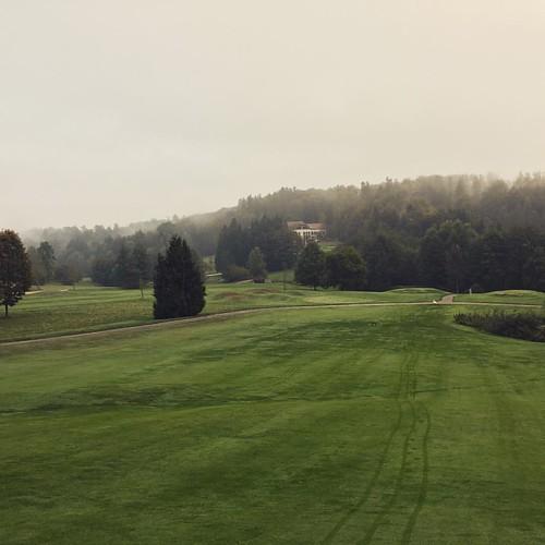 Petit golf à 8h du matin