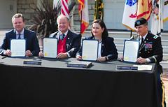 Intergovernmental Service Agreement Signing Ceremony
