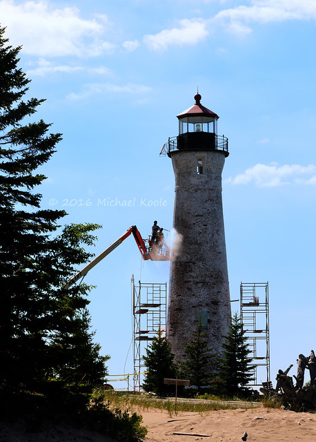 Crisp Point Light Restoration - 2016