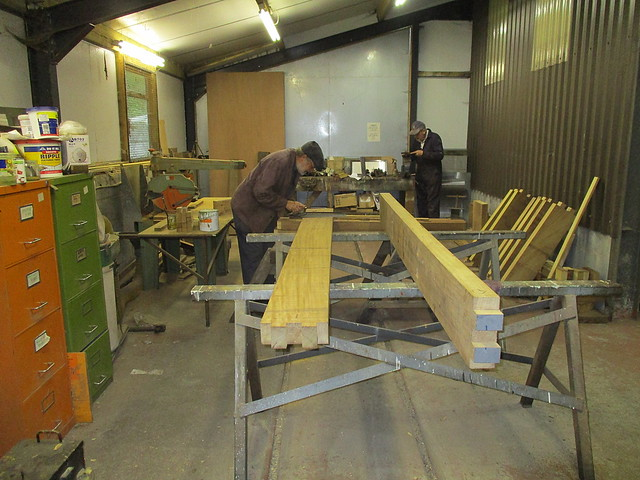 Wooden Wagon Building