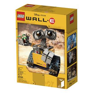 【官圖、販售資訊更新】LEGO® 21303【瓦力】史上最專情的機器人 WALL-E