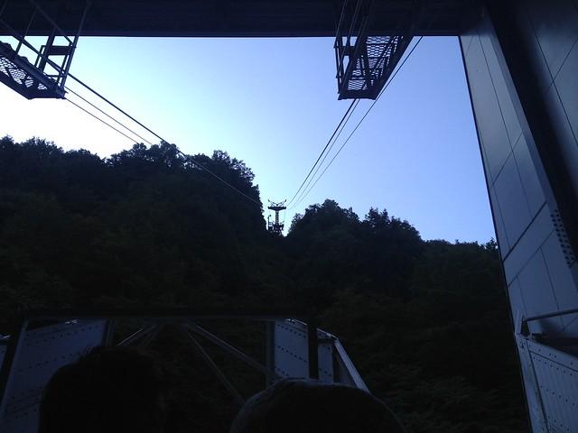 西穂高岳 新穂高ロープウェイ 新穂高温泉駅