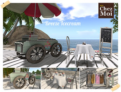 Breeze Ice Cream Cart Set CHEZ MOI