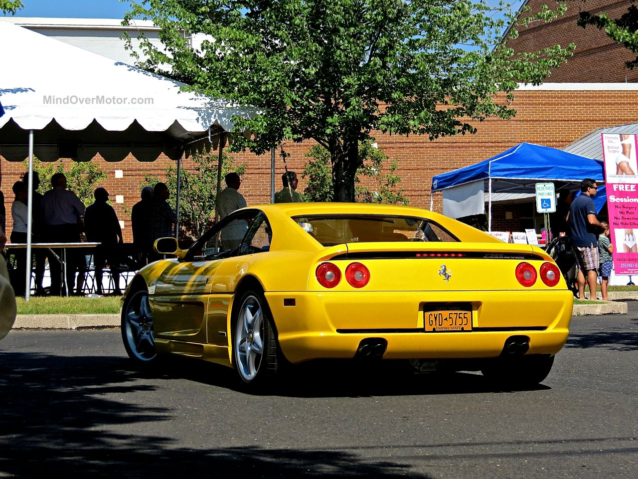 New Hope 2 Ferrari F355 Yellow
