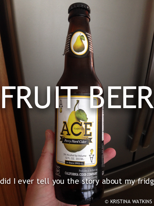 Cider Test - 3 Ace Pear