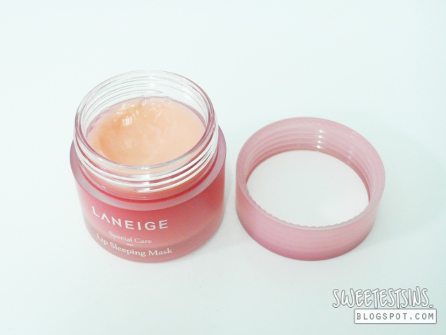 laneige lip sleeping mask review 1
