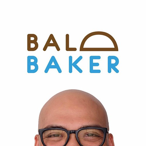 the bald baker