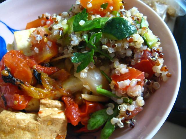 The Vegan Table: Quinoa Tabbouleh