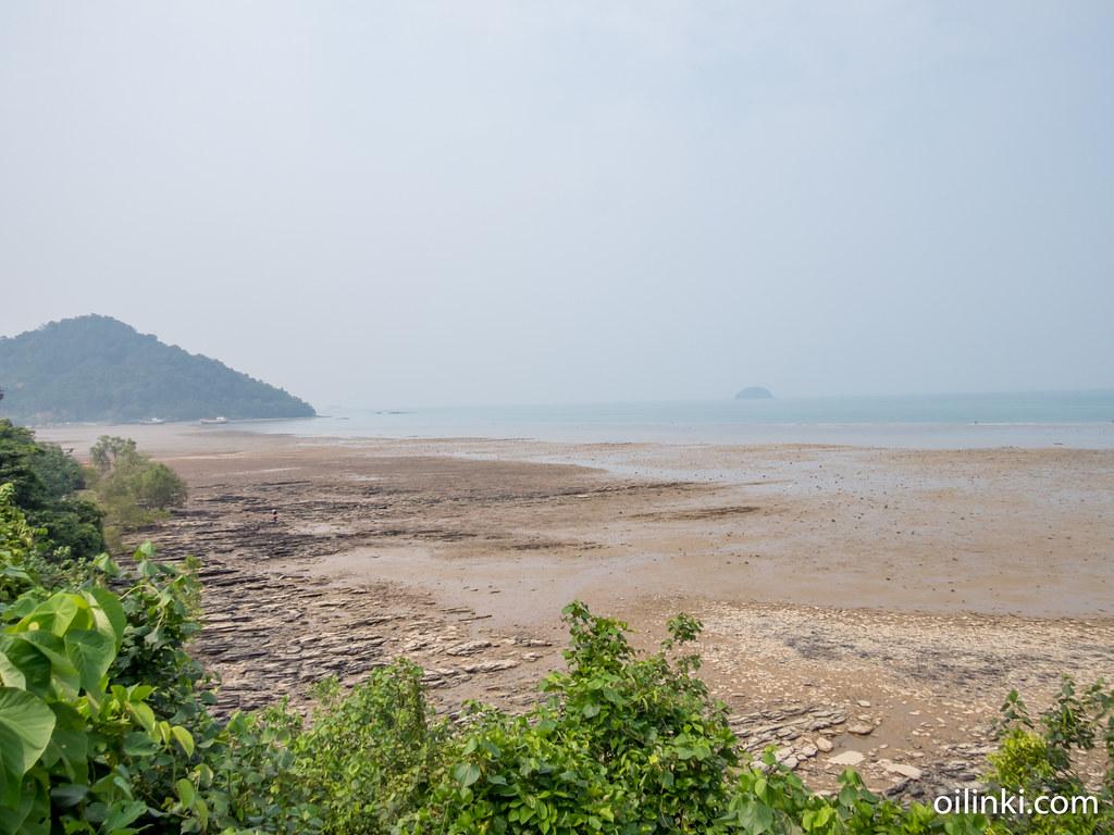Phanga bay during fog weather