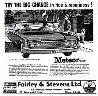 1960 Meteor Montcalm Four-Door Hardtop