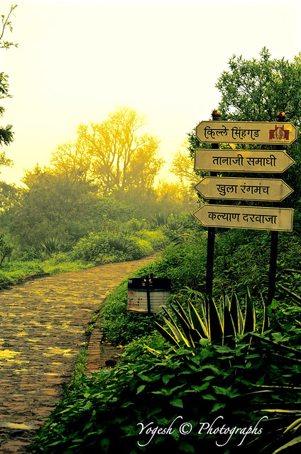 Historic Sinhagad Fort