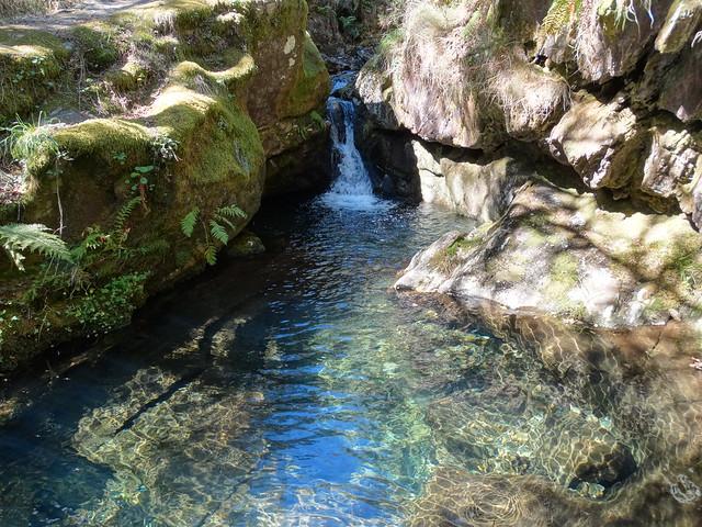 Cascada de Grobas en Forcarei
