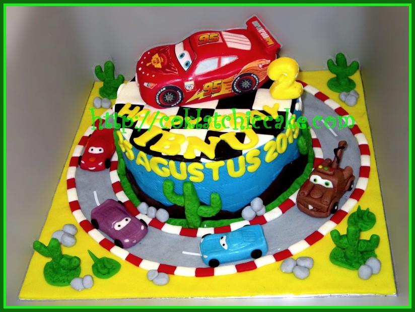 Cake Cars Ibnu Coklatchic Cake