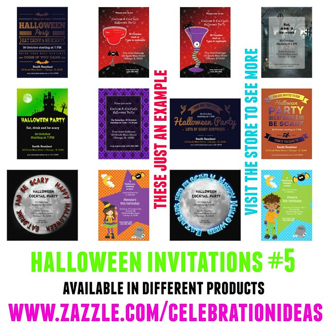 Halloween Invitations 5