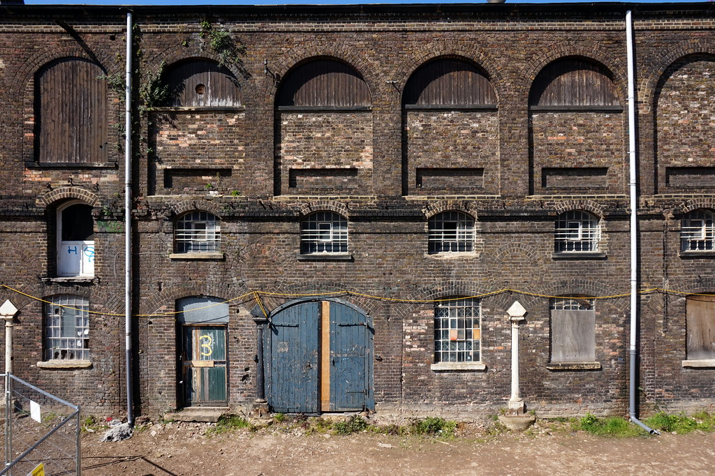 King's Cross coal drop building facade