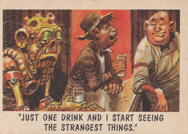 """You'll Die Laughing"" Topps trading cards 1959,  illustrated by Jack Davis (15)"