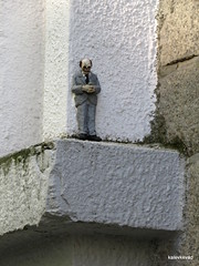 Artwork by Isaac Cordal