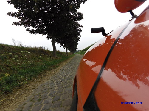 Brosten på cykelsti