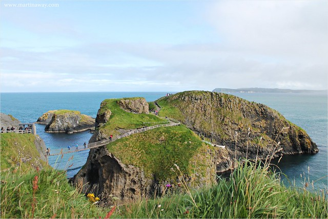 Carrick-a-Rede Rope Bridge.