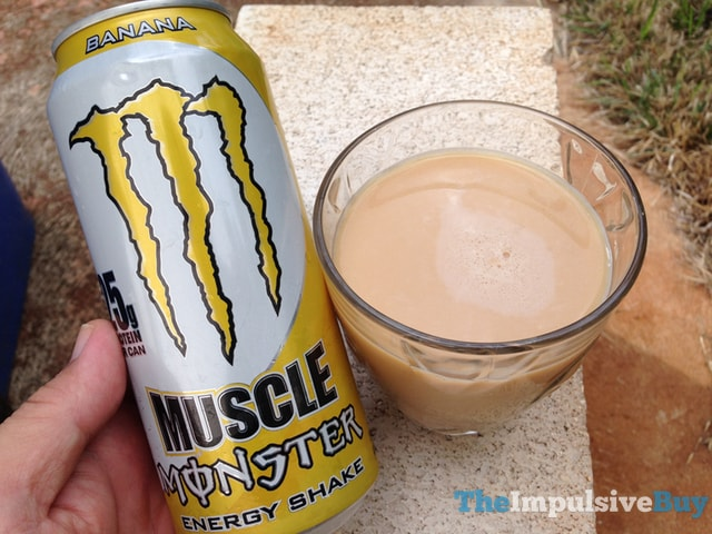 Muscle Monster Banana Energy Shake 2