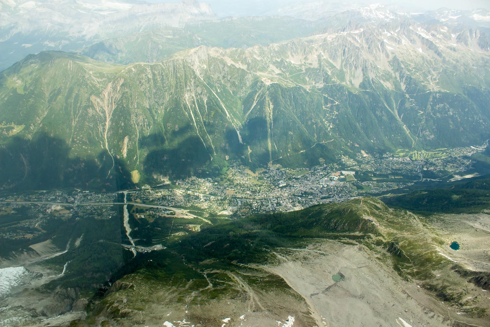 Шамони Мон-Блан - Поедем дальше? Под нами долина Шамони - родина альпинизма
