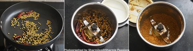 How to make thattapayaru sundal - Step2