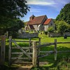 Friston church and kissing gate #historic... by crispyking