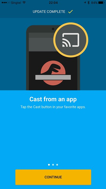 Chromecast iOS App - Cast From An App