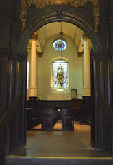 view from the narthex
