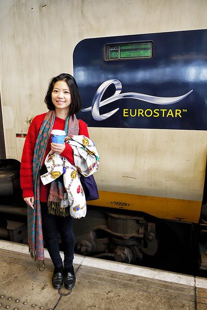eurostar 歐洲之星