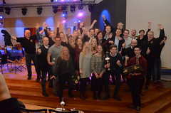 Åsenhöga Brass Band firar segern i division 1